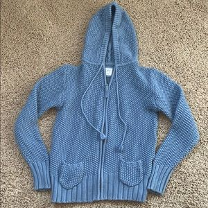 Old Navy Hooded Knit Sweater